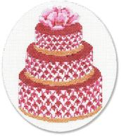 click here to view larger image of Pink Cake (hand painted canvases)