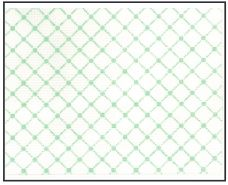 click here to view larger image of Green Netting Purse Insert (hand painted canvases)