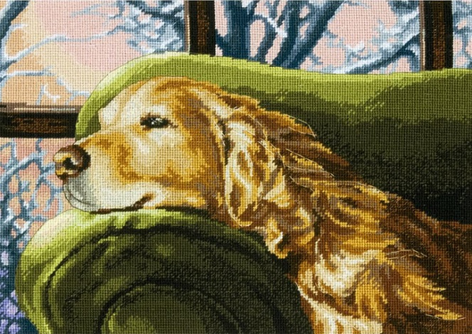 click here to view larger image of Lounging (needlepoint kits)
