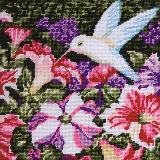 click here to view larger image of Hummingbird Needlepoint (needlepoint kits)