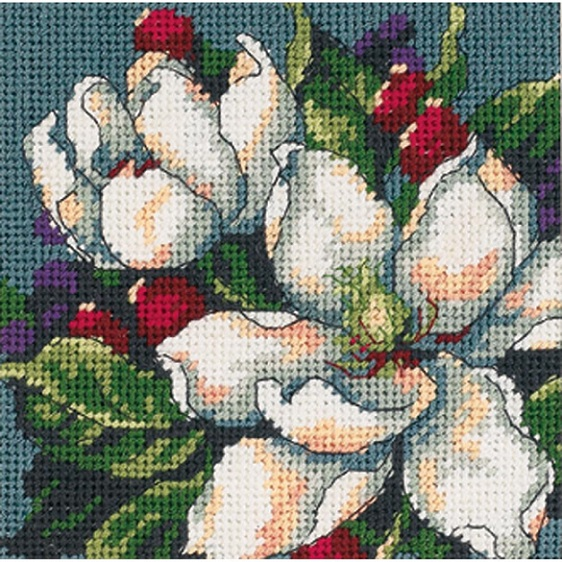 click here to view larger image of Magnolia (needlepoint kits)