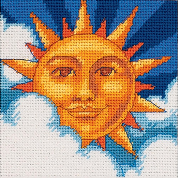 click here to view larger image of Celestial Sun (needlepoint kits)