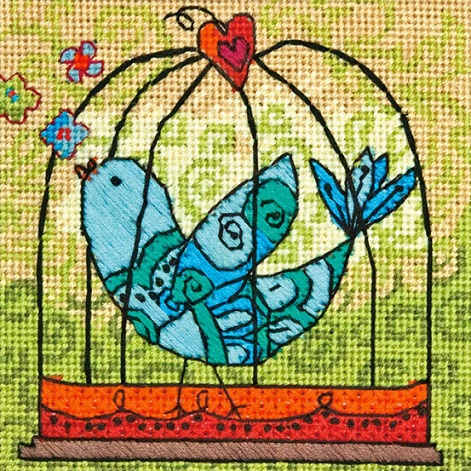 click here to view larger image of Birdie (needlepoint kits)