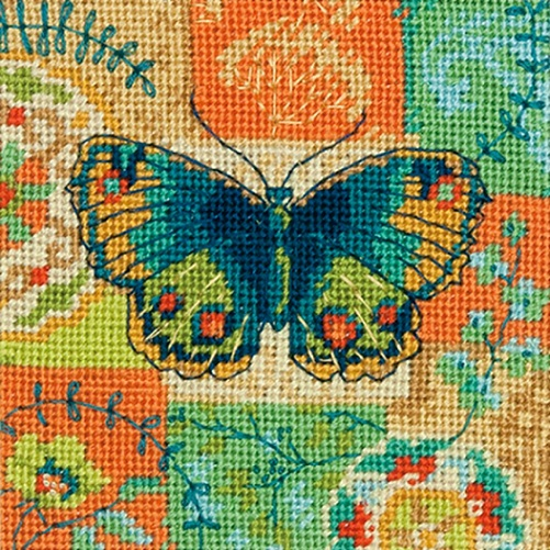 click here to view larger image of Butterfly Pattern (needlepoint kits)