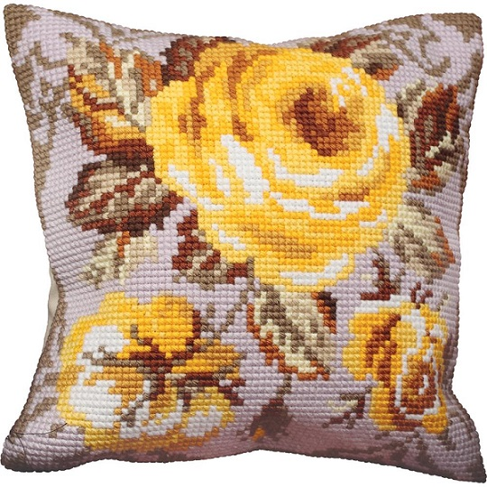 click here to view larger image of Rose Antique (Antique Rose) (needlepoint kits)
