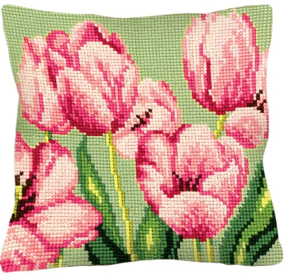 click here to view larger image of Tulipe A Droite (Tulip on the Right) (needlepoint kits)