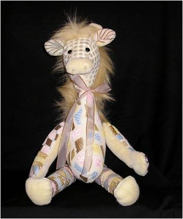 click here to view larger image of Gennifer Giraffe (hand painted canvases)