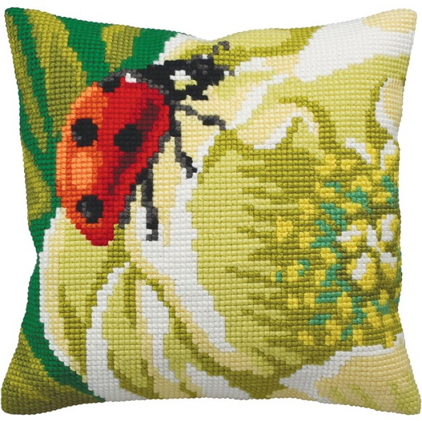 click here to view larger image of Coccinelle (Ladybug) (needlepoint kits)