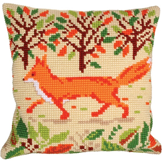click here to view larger image of Red Fox (needlepoint kits)