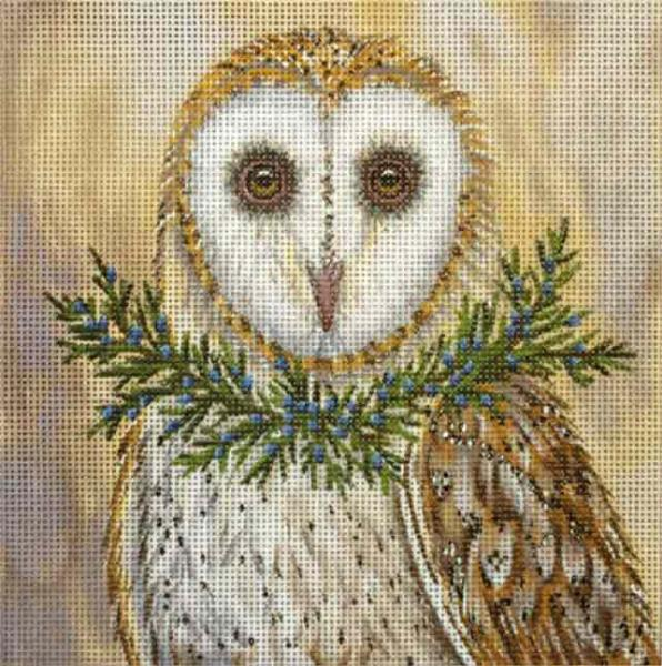 click here to view larger image of Betsy Owl/Cedar (hand painted canvases)