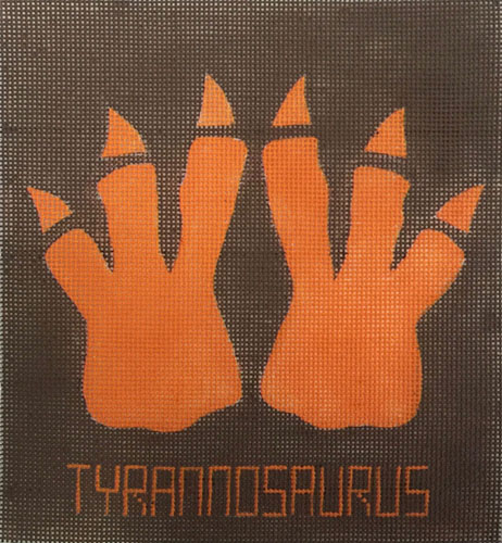 click here to view larger image of Tyrannosaurus Feet (hand painted canvases)