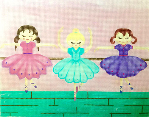 click here to view larger image of Dance Recital (hand painted canvases)