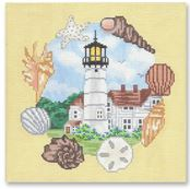 click here to view larger image of Chatham Lighthouse - MA (hand painted canvases)