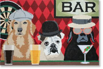 click here to view larger image of Bar Patrol (hand painted canvases)