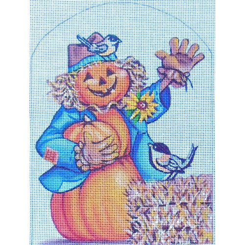 click here to view larger image of Hello Pumpkin (hand painted canvases)