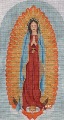 click here to view larger image of Our Lady Of Guadalupe (hand painted canvases)