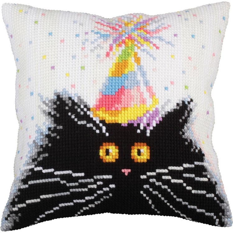click here to view larger image of Happy Birthday (needlepoint kits)