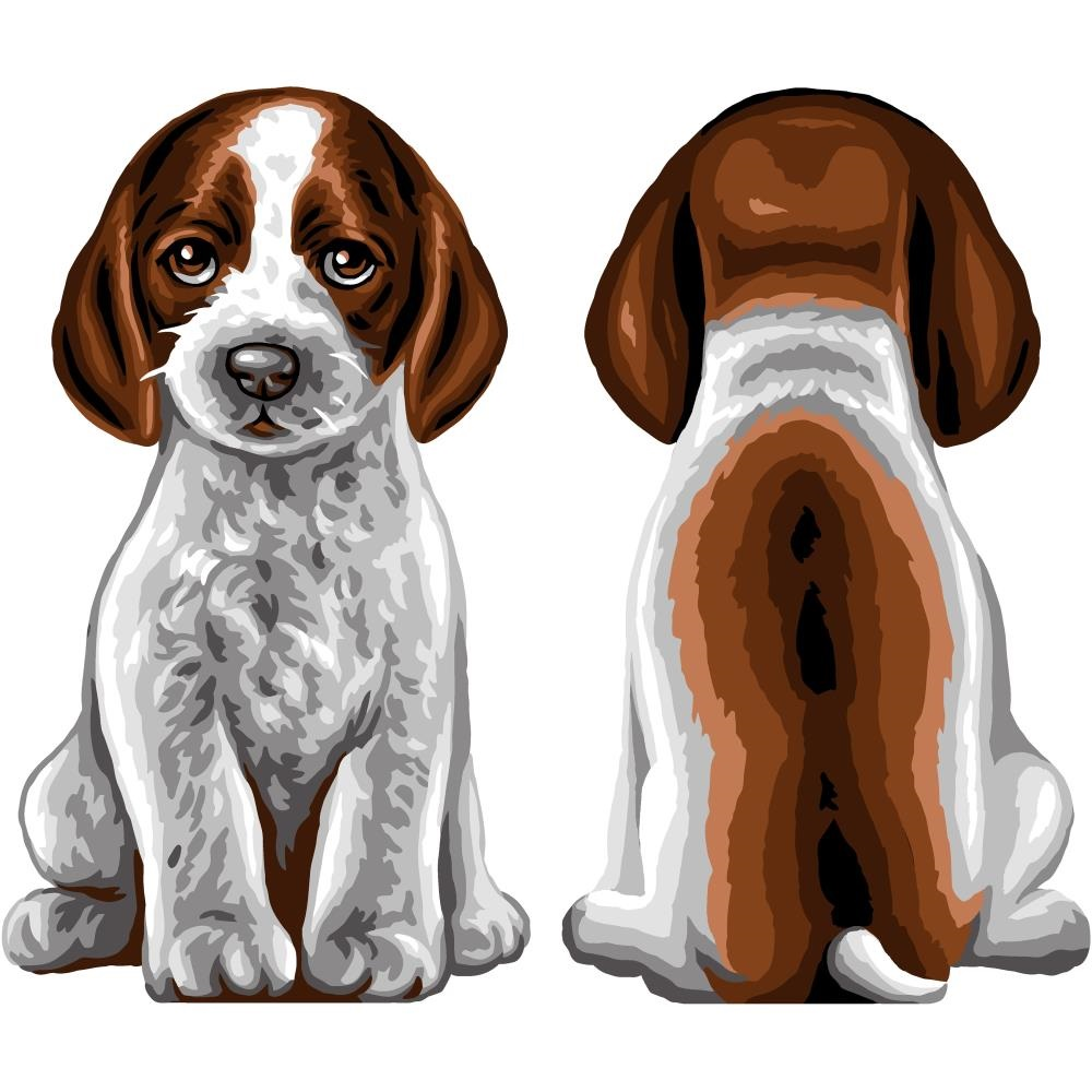 click here to view larger image of Champ - Pocket Pets (Stamped Canvas)
