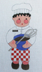 click here to view larger image of Chef Michael (hand painted canvases)