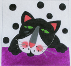 click here to view larger image of Felix (hand painted canvases)