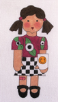 click here to view larger image of ER Girl, Left Arm (hand painted canvases)