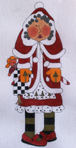 click here to view larger image of Mrs. Santa Claus (hand painted canvases)