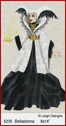 click here to view larger image of Belladonna - Witchy Women (hand painted canvases)