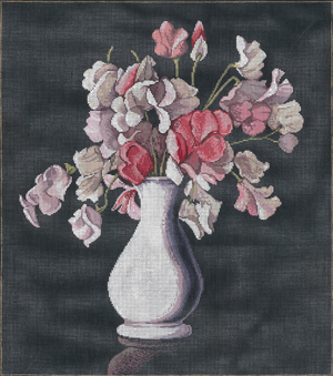 click here to view larger image of Elegance (hand painted canvases)