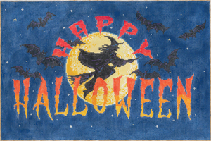 click here to view larger image of Halloween Flight (hand painted canvases)