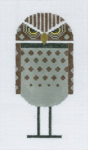 click here to view larger image of Burrowing Owl (hand painted canvases)