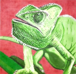 click here to view larger image of Chameleon (hand painted canvases)