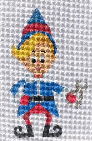 click here to view larger image of Tiny Elf - 18ct (hand painted canvases)