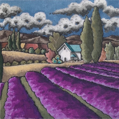click here to view larger image of Lavender Dreams - 18ct (hand painted canvases)
