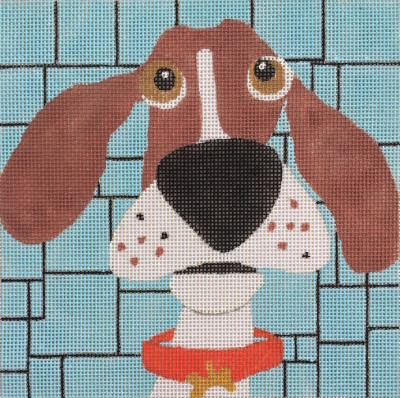 click here to view larger image of Good Dog  (hand painted canvases)