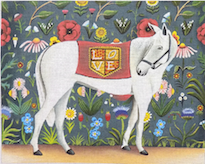 click here to view larger image of Love Horse (hand painted canvases)