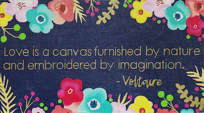 click here to view larger image of Voltaire (hand painted canvases)
