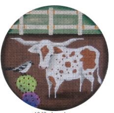 click here to view larger image of Longhorn - 13M (hand painted canvases)
