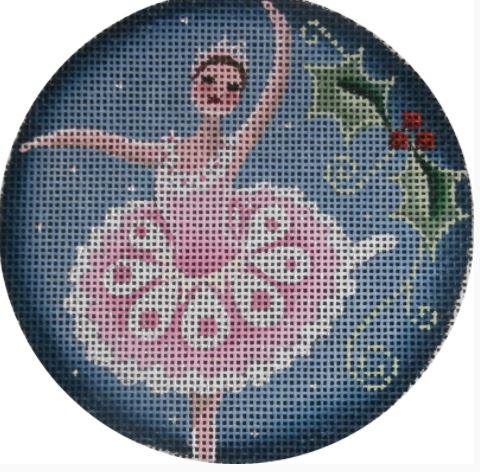 click here to view larger image of Sugar Plum Fairy Ornament (hand painted canvases)