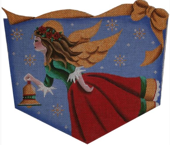 click here to view larger image of Bell Angel Cuff - 13M (hand painted canvases)