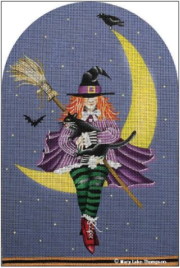 click here to view larger image of Witch Is In, The (hand painted canvases)