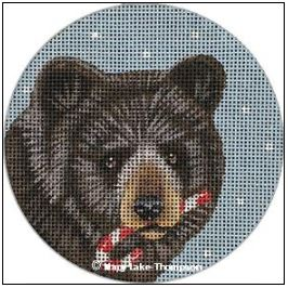 click here to view larger image of Bear (hand painted canvases)
