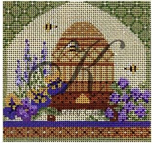 click here to view larger image of Bee Skep in Springtime Garden Embellishment Kit (books)