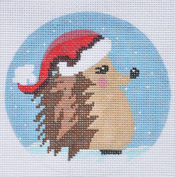click here to view larger image of Santa Hedgehog Ornament (None Selected)