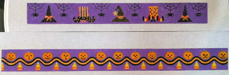 click here to view larger image of Halloween Cake Bands Stitch Guide (hand painted canvases)