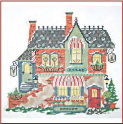 click here to view larger image of Winter Village - Barber Tailor and Green Grocer (None Selected)