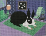 Big Bunny - click here for more details about this hand painted canvases