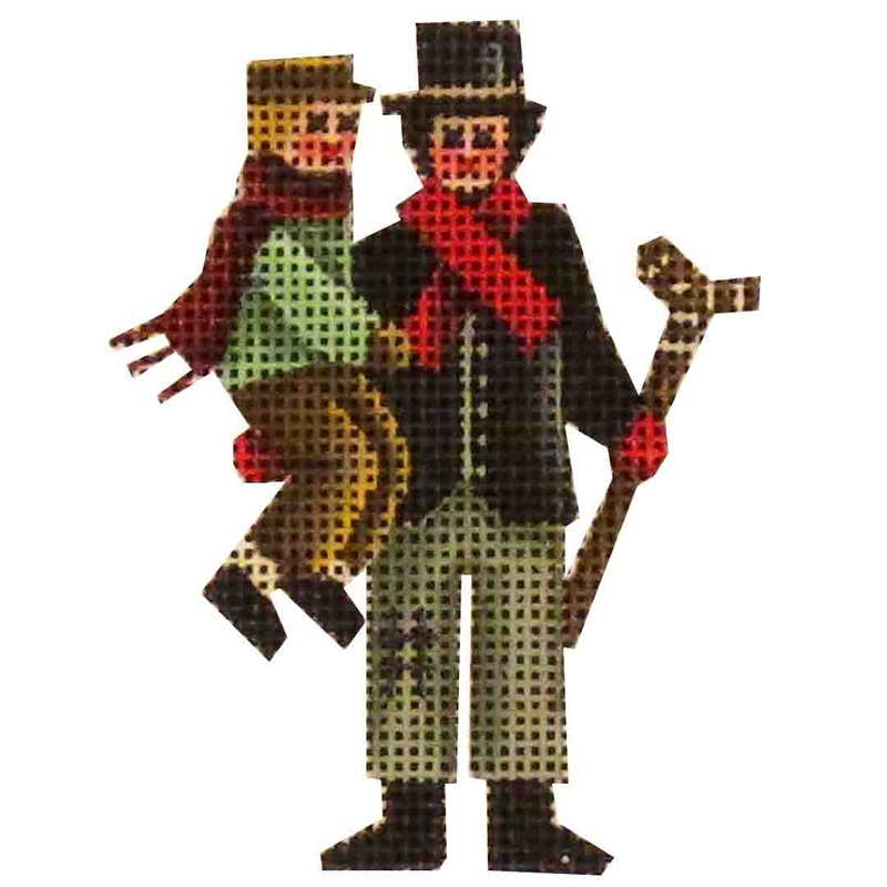 click here to view larger image of Bob Cratchit and Tiny Tim (None Selected)